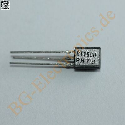 5 x BT169B Silicon Controlled Rectifier Philips TO-92 5pcs
