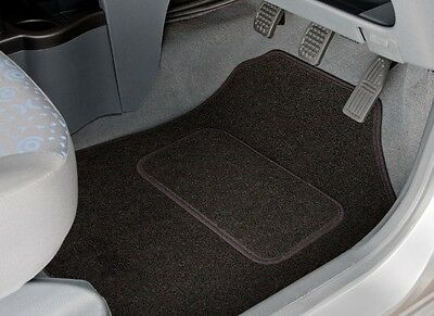 Peugeot 206 (1998 - 2010) Tailored Car Mats With Black Trim (2267)