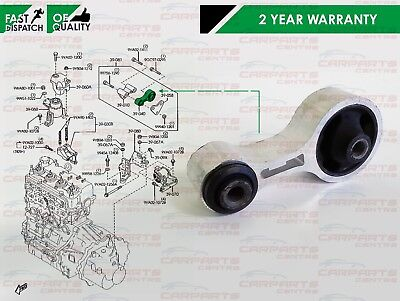 For Mazda 6 Rear Engine Gearbox Mounting Bottom Centre Mount Diesel Tubro Mps