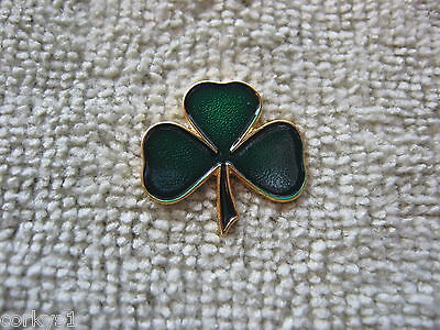 "Irish Shamrock Pin Badge Ireland ""IRISH SHAMROCK"" Ireland Shamrock Lapel/Hat Pin"