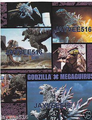 Godzilla X (Vs) Megaguirus #2 Special 8.5 X 11 Transparent Original Still Photo