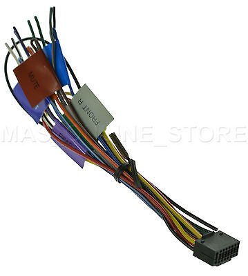 Kenwood Kdc X693 Kdcx693 Genuine Wire Harness pay Today wire harness for pioneer avic d3 avicd3 *pay today ships today