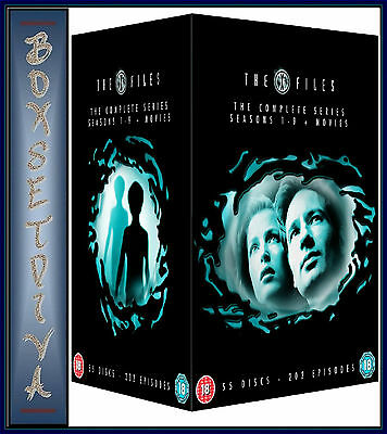 The X Files - Complete Series Seasons 1 2 3 4 5 6 7 8 & 9 + 2 Movies *brand New