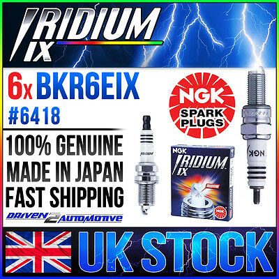 6 x NGK IRIDIUM IX PLUGS SALE BKR6EIX WHOLESALE PRICE UPGRADE PLUG FAST SHIPPING