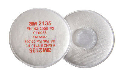 3M 2135 P3 2000 Series Particulate Filters High Level Dust Particle & Vapour