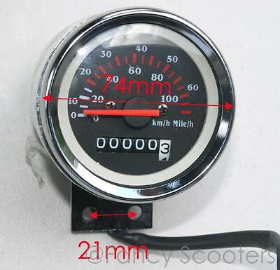 Peace Sports Gas Scooter TPGS-824 (HONDA RUCKUS STYLE) Odometer with 2 wires