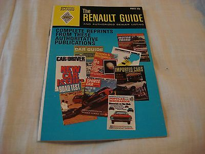 The Renault Guide and Authorized Dealer Listing Special Edition