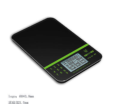 5KG x 1g Slim Digital Kitchen Nutritional & Postal Scale (Start Reading From 2g)