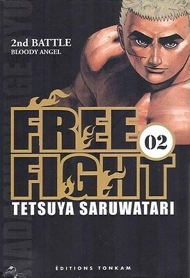 FREE FIGHT - NEW TOUGH tome 2 Saruwatari MANGA seinen