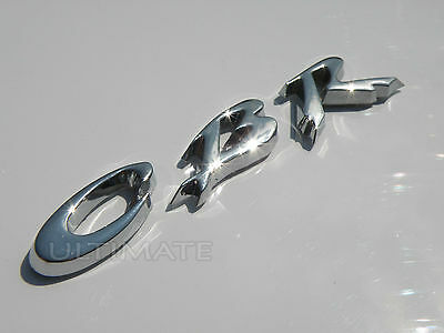 Motorbike Bike 3D Chrome Honda Cbr Fireblade Self Adhesive Stick On Badge Emblem