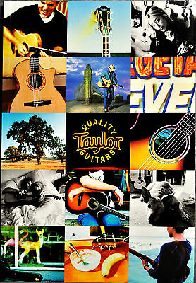 New Official TAYLOR GUITARS 2004 - 2005 CATALOG 76 pages of Color Images