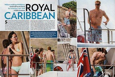 Prince William & Kate Middleton  --  2006 Magazine Pictures Clipping   vg