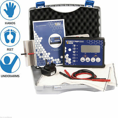 Hidrex PSP1000 for Hands, Feet and Underarms, Pulsed & Direct current device.