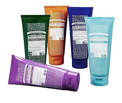 Dr Bronner Castile Shaving Gel, Shave Organic Fair Trade 208ml