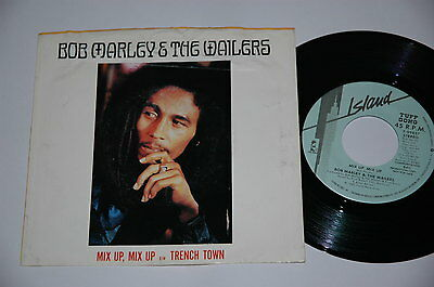 "7""/BOB MARLEY & THE WAILERS/MIX UP/TRENCH TOWN/PROMOTION PROMO/Island 7-99837"