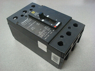 USED Square D KDL32225 PowerPact Thermal Magnetic Circuit Breaker 225 Amps