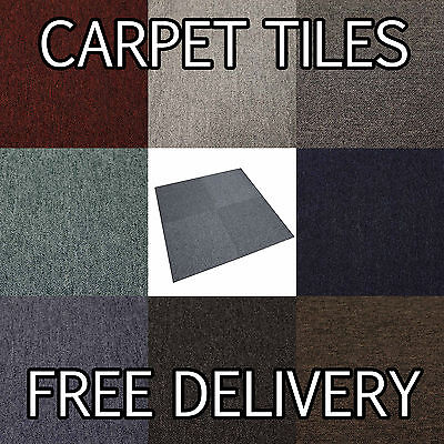 Quality Commercial Contract CARPET TILES Retail Flooring - Domestic - Heavy Duty