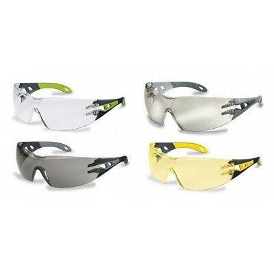 Uvex Pheos Sports Style Safety Glasses Spectacles - Various Lens Colours