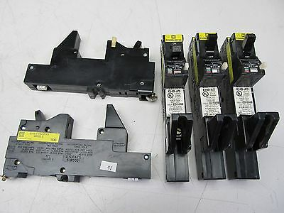 Lot Of 5 Square D Ehb14020As Powerlink As Remotely Oper. Circuit Breaker Nice !!