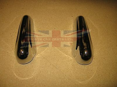 Pair of Brand New MG MGA Bumper Overriders or Guards 1955-1962