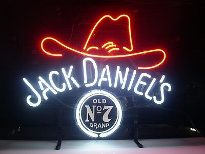 New Whiskey Real Glass Neon Light Sign Beer Bar Pub Sign L50