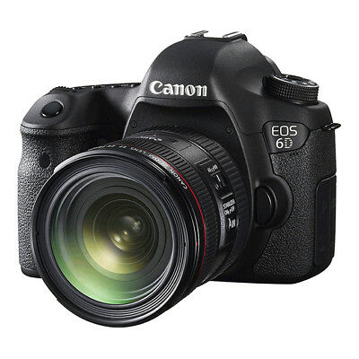 NEW Canon EOS 6D Body 24-70mm 20.2MP Digital SLR with 1 Year Warranty