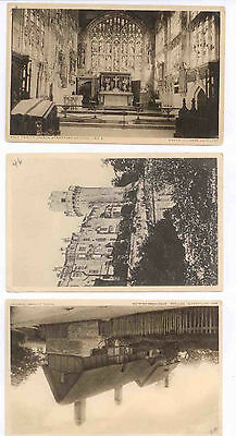 Lot of 6 Vintage Postcards of Stratford on Avon - Shakespeare's House Etc.