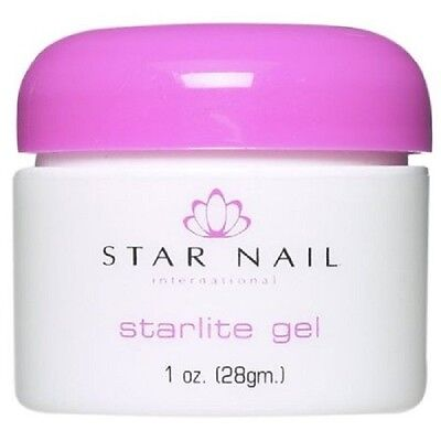 Star Nail StarLite Sculpting UV Nail Gel White THICK CLEAR PINK CLEAR 0.5 1 2 oz
