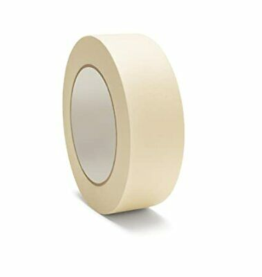Masking Tape 36 Rolls General Purpose 1/2 Inch x 60 Yards Adhesive Tapes