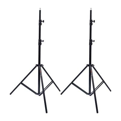 2X Victory 303 Al 260cm Foldable Heavy Duty Studio Light Stand for Background AU