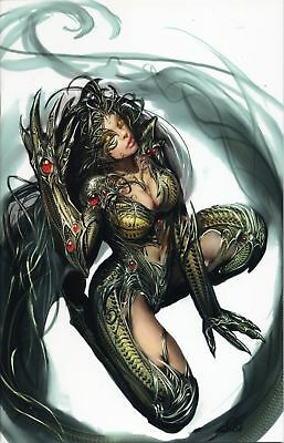 FIRST BORN  (deutsch) Preview COMIC ACTION-VARIANT lim. 99 Ex. WITCHBLADE