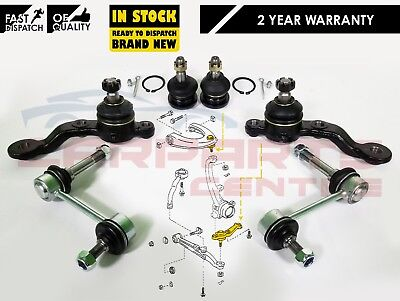 For Lexus Is200 Is300 Front Upper Lower Arm Ball Joints Front Antiroll Bar Links