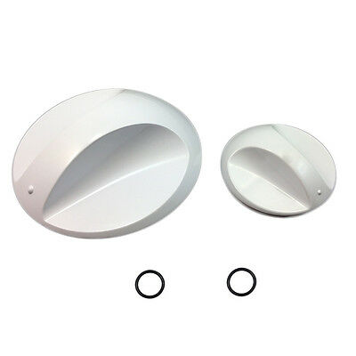 Galaxy MX Large and Small Shower Control Knobs - SG08091