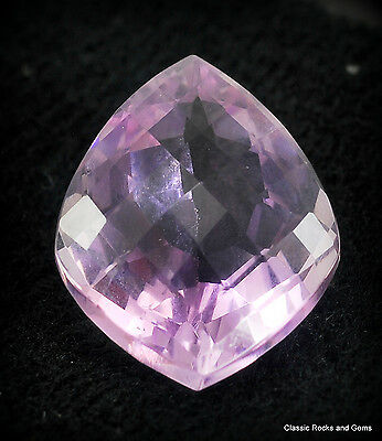 Faceted Lilac Amethyst Edelstein Ametista