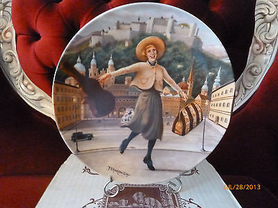 """SOUND OF MUSIC COLLECTOR PLATE / KNOWLES """" I HAVE CONFIDENCE """" 1987 Bradford"""