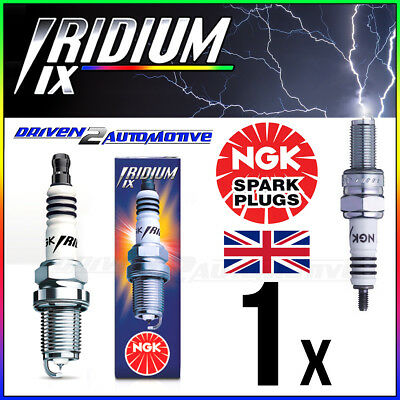 1 x NGK IRIDIUM IX CR8EIX SPARK PLUG UPGRADE FOR C8E,CR8E,CR8EB,CR8EK,CR8EVX