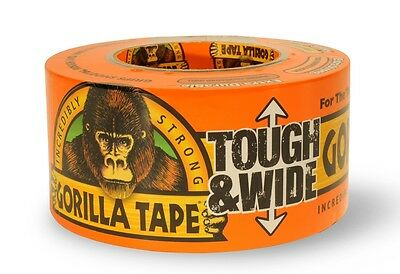 Gorilla Tape - Tough and Wide Duct Tape - 3 inch / 75mm x 27M