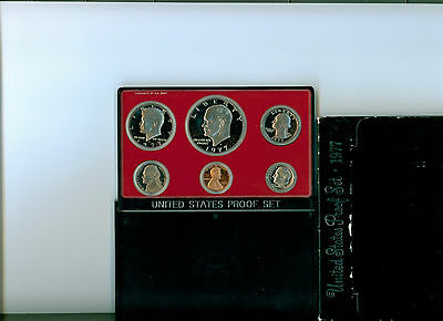 1977 USA PROOF SET  Mint IN CASE