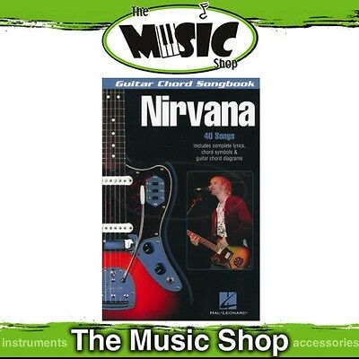 New Guitar Chord Songbook Nirvana - Chords & Lyrics Music Book