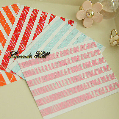 3 FOR 2 Self Adhesive Photo Corner Stickers Album Scrapbook Blue Pink Red Dot 78