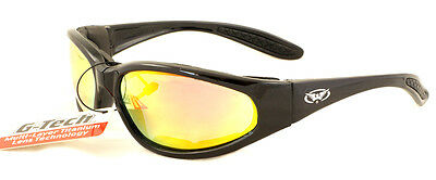New UV400 Shatterproof G-Tech Motorcycle sunglasses/Biker Glasses + Free pouch