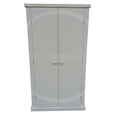 Hand Made Dewsbury Furniture Ladies Wardrobe White( Assembled)