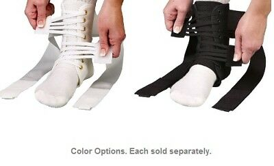Med Spec ASO Speed Lacer Ankle Stabilizer  - White or Black - Size Options