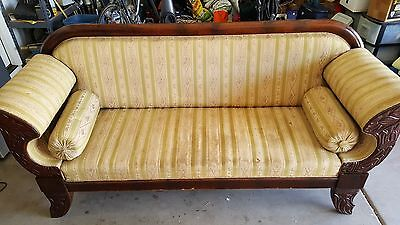 Antique sofa and three chairs