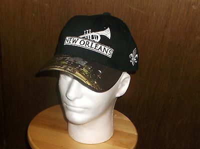 New Orleans French Quarter Hat V*lcro Close Mint Condition