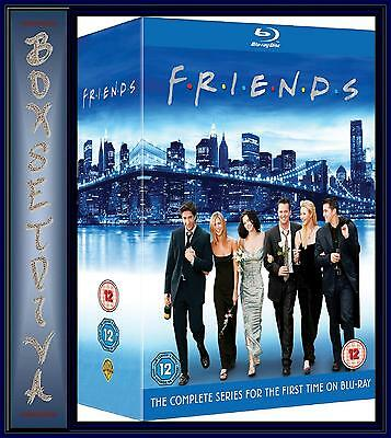 Friends - The Complete Series 1 - 10  *** Brand New Blu-Ray ** Region Free **