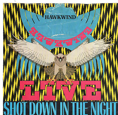 "Hawkwind - Shot Down In The Night 7"" Single 1980"