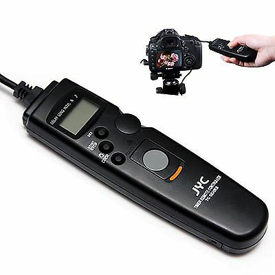 Wired LCD Timer Remote Control Shutter Release for Nikon D5200 D3200 D750 D7200