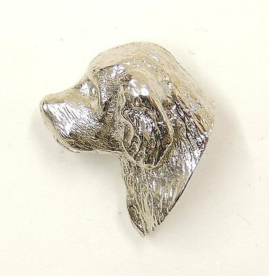 Clumber Spaniel Lapel Pin/Brooch
