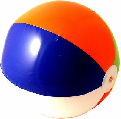 "Inflatable Beach Ball Hawaiian Party Summer Pool Fun 16"" 41cm"